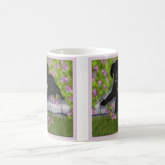 Andy Under the Lilacs coffee mug,