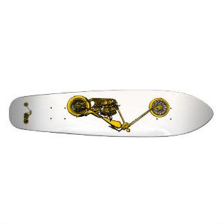Andy Warhol Style Chopper Skateboard