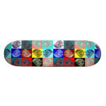 Andy Warlong-Haul CabOver The LookingGlass Rainbow Skateboard Decks