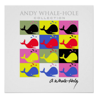Andy Whale-Hole™_12 panel poster/print Poster