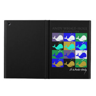 Andy Whale Hole™ 12 panel splashy shades Cover For iPad Air