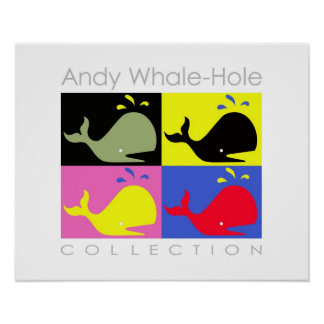 Andy Whale-Hole™_4 panel poster/print Poster