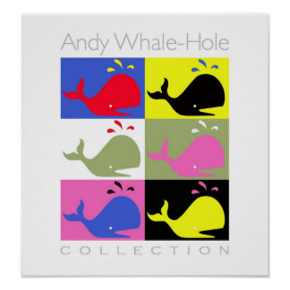 Andy Whale-Hole™_6 panel poster/print Poster
