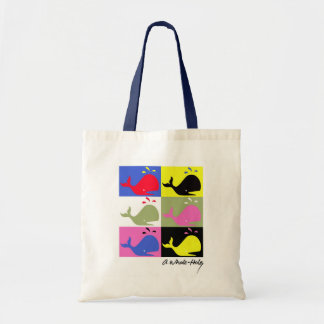 Andy Whale-hole™_6 panel signed Tote Bag