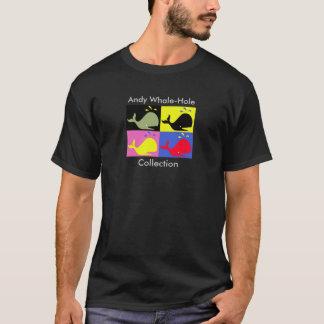 Andy Whale-Hole™_black T-Shirt