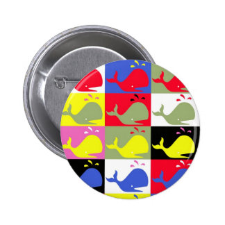 Andy Whale-Hole™_Button Pinback Button