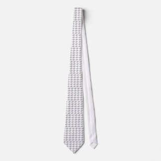 Andy Whale-Hole™_grey on white fashion Neck Tie