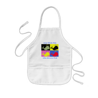 "Andy Whale-Hole™_""Little Minnows Club"" Kids' Apron"