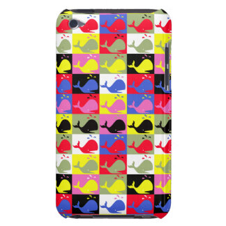 Andy Whale-Hole™_Lots o' whales iPod Case-Mate Cases