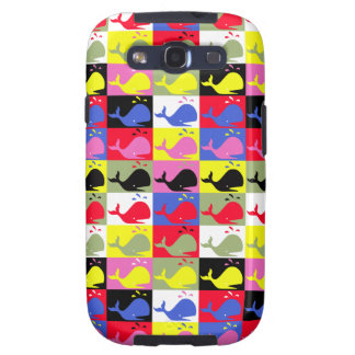Andy Whale-Hole™_Lots o' whales Galaxy SIII Case