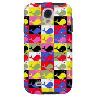 Andy Whale-Hole™_Lots o' whales Galaxy S4 Case