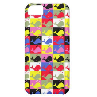 Andy Whale-Hole™_Lots o' whales iPhone 5C Covers
