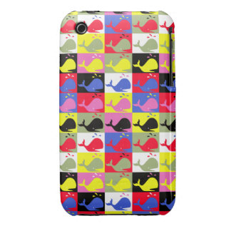 Andy Whale-Hole™_Lots o' whales iPhone 3 Cases