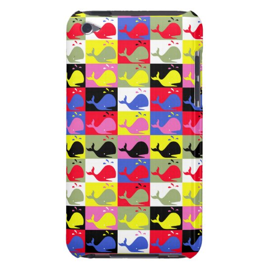 Andy Whale-Hole™_Lots o' whales iPod Touch Cover