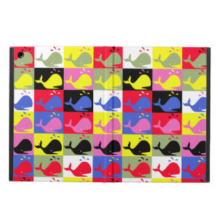 Andy Whale-Hole™_Lots o' whales pattern iPad Air Cover
