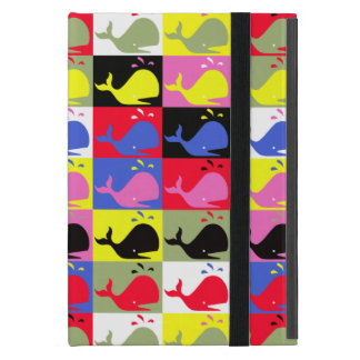 Andy Whale-Hole™_Lots o' whales pattern iPad Mini Cover