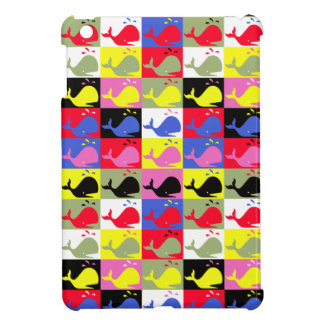 Andy Whale-Hole™_Lots o' whales pattern iPad Mini Covers