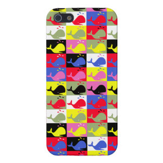 Andy Whale-Hole™_Lots o' whales pattern Cases For iPhone 5