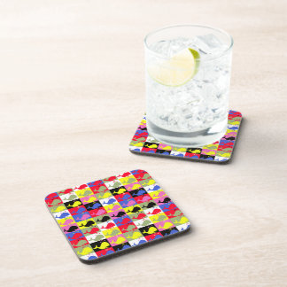 Andy Whale-Hole™ pattern_Lots o' little whales Coaster
