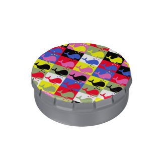 Andy Whale-Hole™ pattern_Lots o' little whales Jelly Belly Tins