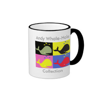 Andy Whale-Hole™_Ringer Taza De Dos Colores