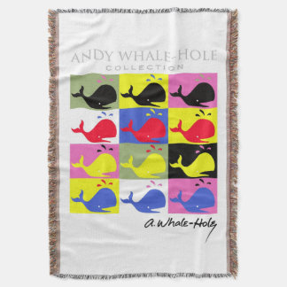 Andy Whale-Hole™_signature series 12 panel Throw