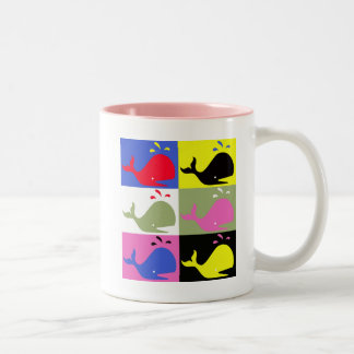 Andy Whale-Hole™_Two-Tone Taza