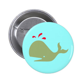 Andy Whale Singletons_green,red on teal button