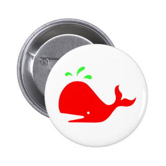 Andy Whale Singletons_red,green on white button