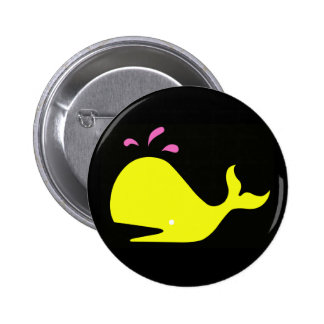 Andy Whale Singletons_yellow,pink on black button