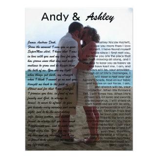 Andy y Ashley, casando imagen con votos Fotografía