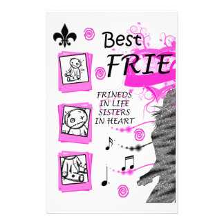 Andy's BFF (1) Stationery