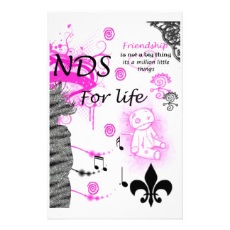 Andy's BFF (2) Stationery