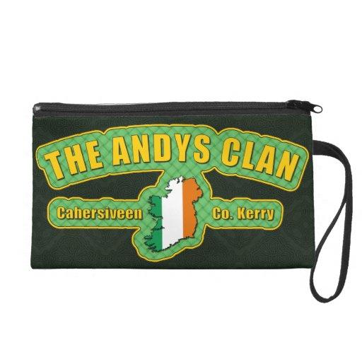 Andys Clan Bag Wristlet Clutch