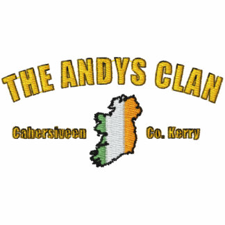 ANDYS Clan Embroidered Shirt - No Background