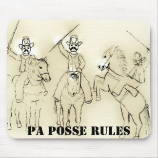 andys pic, PA POSSE RULES Mouse Pad