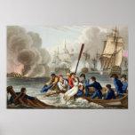 Anécdota en la batalla de Trafalgar Póster