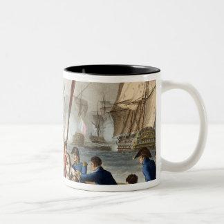 Anécdota en la batalla de Trafalgar Tazas
