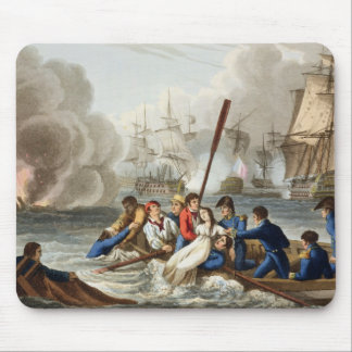 Anecdote at the Battle of Trafalgar Mouse Pad