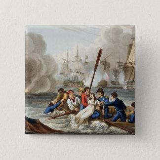 Anecdote at the Battle of Trafalgar Pinback Button