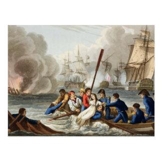Anecdote at the Battle of Trafalgar Postcard