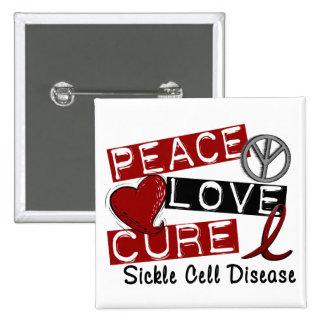 Anemia de células falciformes de la curación del a pins