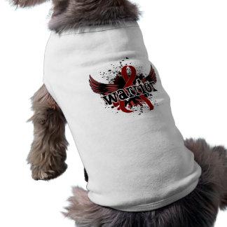 Anemia de células falciformes del guerrero 16 camisetas de perrito