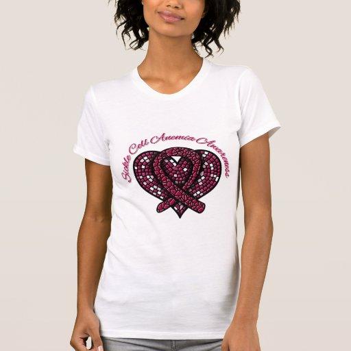 Anemia de la célula falciforme de la cinta del camiseta
