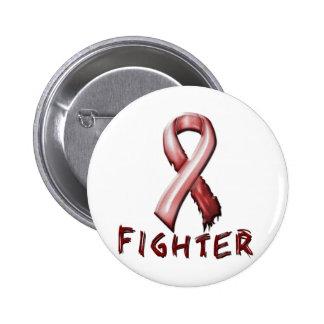 Anemia de la célula falciforme pin redondo de 2 pulgadas