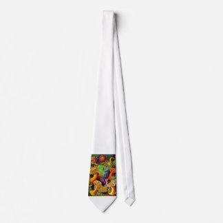 Anémonas de mar corbata personalizada