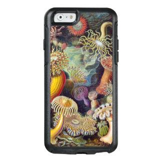 Anémonas de mar subacuáticas del vintage de Ernst Funda Otterbox Para iPhone 6/6s