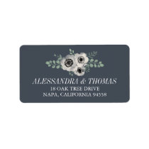 Anemone and Eucalyptus Floral Return Label