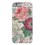 Anemone and Music Barely There iPhone 6 Case