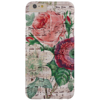Anemone and Music Barely There iPhone 6 Plus Case